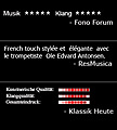 New reviews of French Trumpet Concertos
